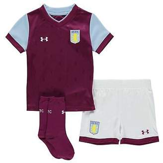 Under Armour Kids Aston Villa Home Mini Kit 2017 2018 Domestic Minikits Football