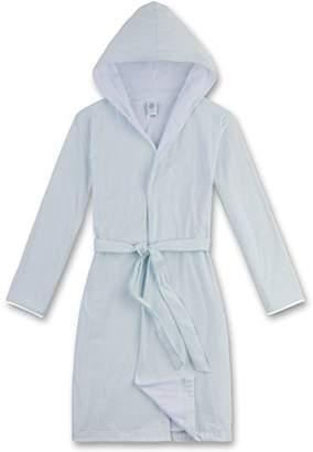 Sanetta Girl's 243859 Dressing Gown, (Light Blue 50227)