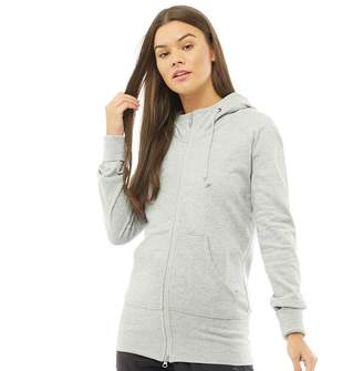 Y-3 Y 3 Womens Future Craft Zip Through Hoody Medium Grey Heather