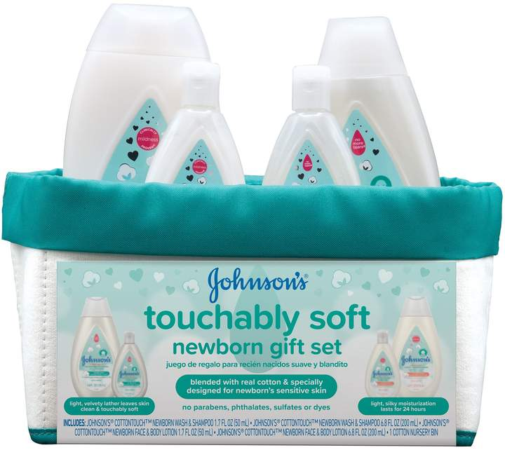 Johnson & Johnson Cotton Touch Newborn Baby Gift Set