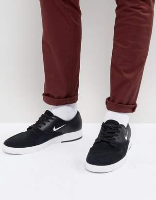 Nike Sb SB Zoom P-Rod X Sneakers In Black 918304-011