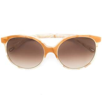 round-frame sunglasses - Yellow & Orange Chlo mhZ9TroA8