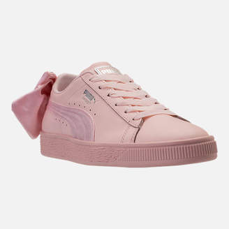 Puma Women's Basket Bow Casual Shoes