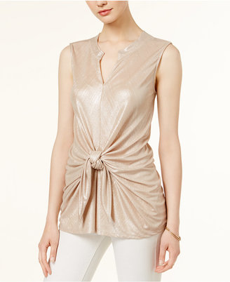Bar Iii Tie-Front Top, Only at Macy's $49.50 thestylecure.com