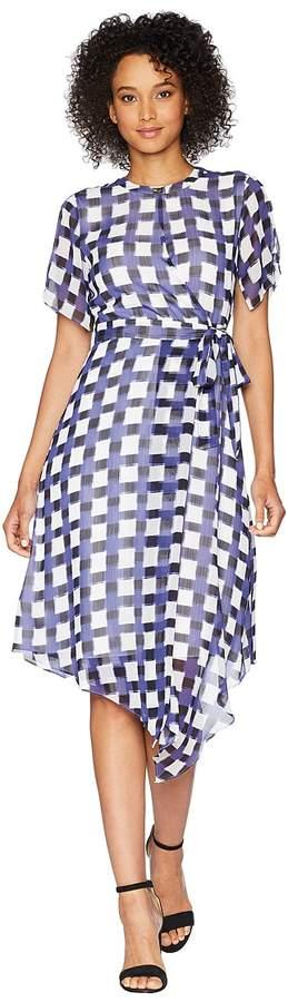 Ellen Tracy Wrap Dress Women's Dress