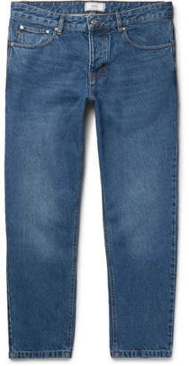 Ami Tapered Cropped Denim Jeans