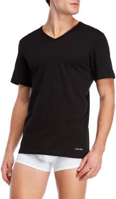 Calvin Klein 3-Pack Slim Fit V-Neck Tee