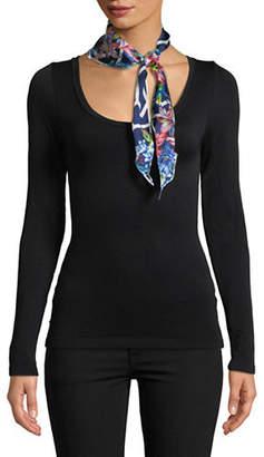 Echo Adelaide Floral Silk Scarf