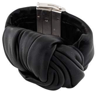 Celine Leather Knot Cuff