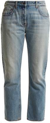 The Row Ashland mid-rise straight-leg jeans
