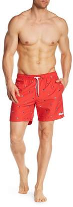 Trunks Surf and Swim CO. Red Coral Swim Trunks