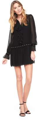 Juicy Couture Studded Ruffle Dress
