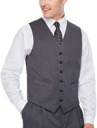 STAFFORD Stafford Travel Medium Grey Classic Fit Suit Vest