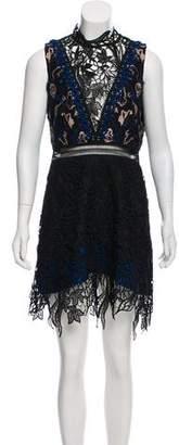 Self-Portrait Clementine Lace Mini Dress