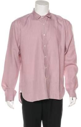 Oliver Spencer Linen Button-Up Shirt