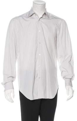 Kiton Striped French Cuff Shirt