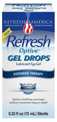 Refresh Optive Gel Drops Artificial Tears - 10 ml $13.29 thestylecure.com