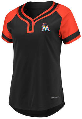 Majestic Women's Miami Marlins League Diva T-Shirt