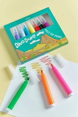 Next Boys Dino-Rawr Felt Tip Pens - Blue