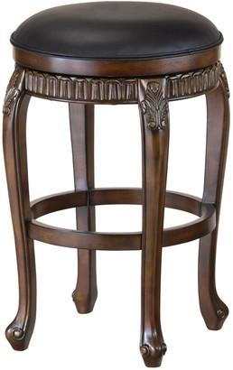 Hillsdale Furniture Fleur De Lis Backless Swivel Bar Stool