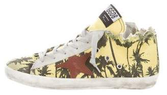 Golden Goose Francy Distressed Sneakers