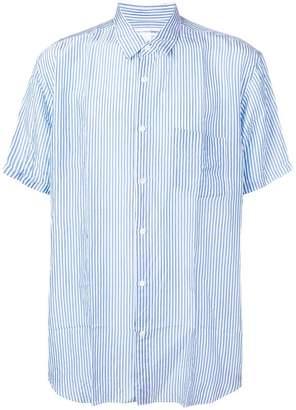 Comme des Garcons short-sleeve striped shirt