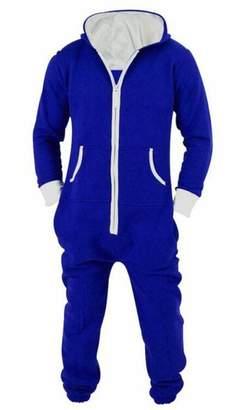 a52d05070d X-Future Men Onesie Jumpsuit 1 Piece Playsuit Nightwear Hooded Pajamas US L