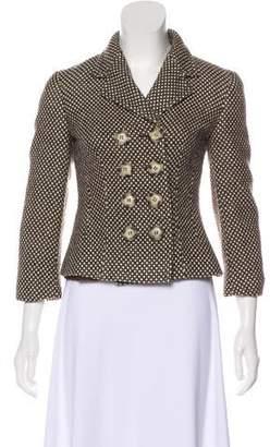 Gianfranco Ferre Double-Breasted Virgin Wool Jacket