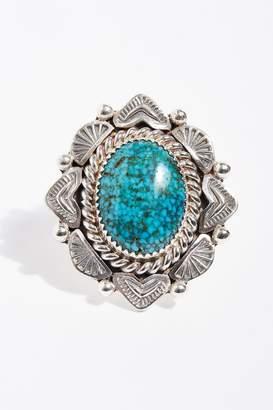 Navajo Arts & Crafts Enterprise Emerald Valley Ring
