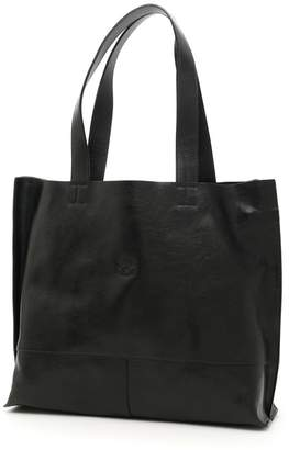 Il Bisonte Leather Shopping Bag