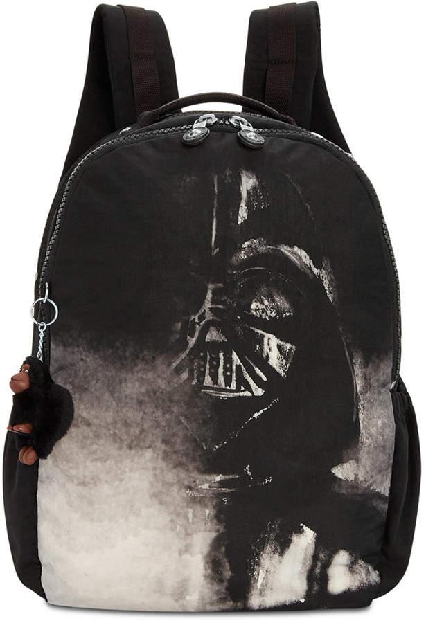 Kipling Disney's Star Wars Large Seoul Laptop Backpack - DARTH VADER BLACK/SILVER - STYLE