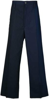 Marni loose fit striped chinos