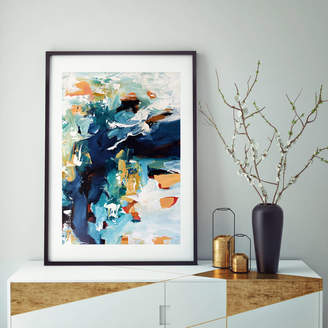 Abstract House Framed Abstract Art Print Modern Artwork