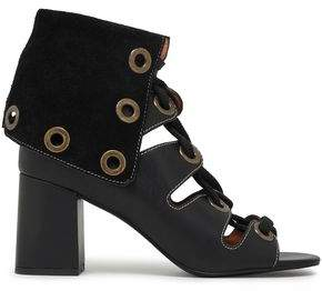See by Chloe Selma Lace-up Leather Sandals