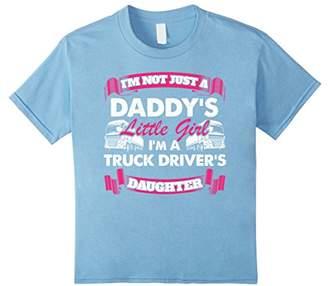 LTL Daddy's Little Girl Truck Driver Trucker T Shirt