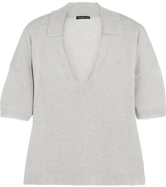 James Perse - Cashmere Top - Gray $350 thestylecure.com