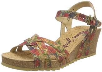 at Amazon Marketplace · Panama Jack Women s Vera Cork B1 Ankle Strap Sandals 8268dd5022