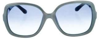 Salvatore Ferragamo Oversize Gradient Sunglasses w/ Tags