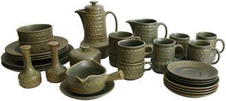 One Kings Lane Vintage Wedgwood Pottery Dish Set - 30-Pcs
