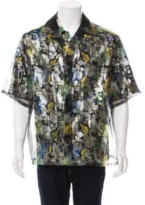 Louis Vuitton 2018 Metallic Hawaiian Shirt