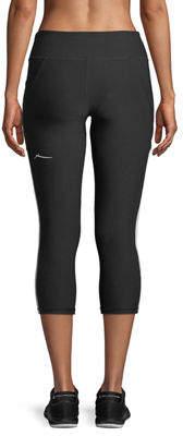 Gottex X By Studio Side-Striped Activewear Capri Leggings