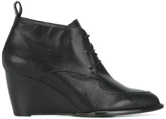 Robert Clergerie wedged boots $625 thestylecure.com