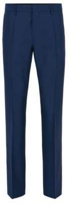 BOSS Hugo Wool Pant, Slim Fit Genesis 32R Dark Blue