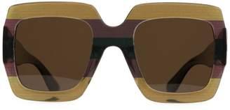 Matt & Nat Avila 53MM Oversized Square Sunglasses