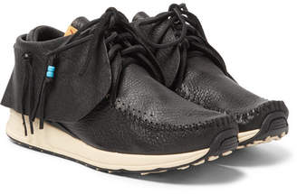 Visvim FBT Full-Grain Leather Sneakers - Black