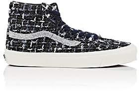 Vans Women's OG Sk8-Hi LX Tweed Sneakers - Md. Blue
