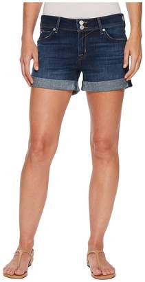 Hudson Croxley Mid Thigh Rolled Shorts in Double Deal Women's Shorts