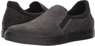 Emporio Armani Suede Slip-On Sneaker