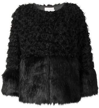 L'Autre Chose faux fur jacket