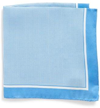 BOSS Dot Silk Pocket Square